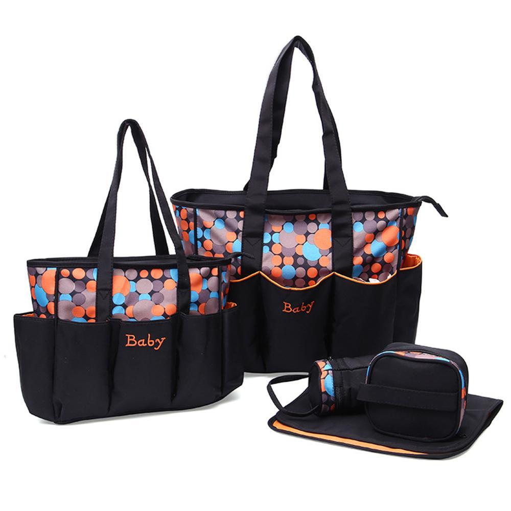 3 цвета Подгузники многофункциональные сумки в полоску большой емкости для ухода за ребенком путешествия 48,5x16x32 см