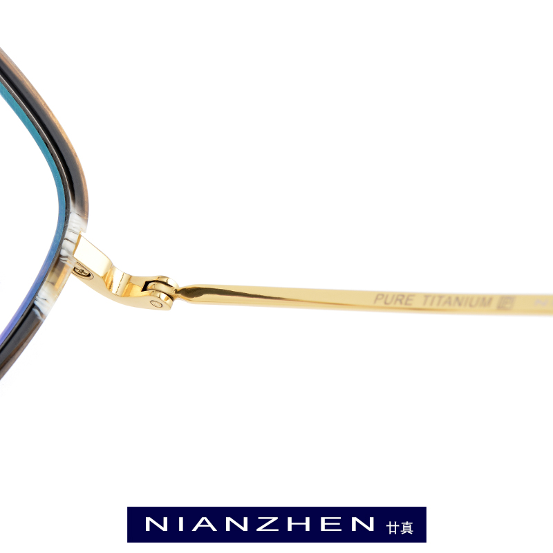 Pure Titanium Acetate Eyeglasses Frame Men Square Optical Frame Eye Glasses for Women Myopia Ultra Light Spectacles Eyewear 9134 in Men 39 s Eyewear Frames from Apparel Accessories