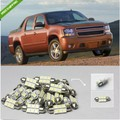 8PCS White LED Interior Light Package Kit For Chevy Avalanche 2007-2012 #39