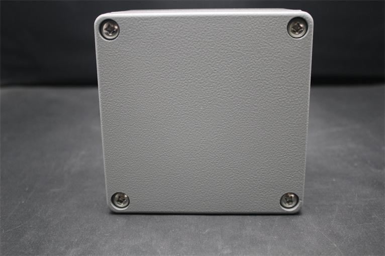 120*120*82MM 2015 High Quality IP66 Electrical waterproof Aluminium Enclosure box with 4 Screws 2015 ip66 electrical aluminium enclosure waterproof box 300 210 130 with 4 screws