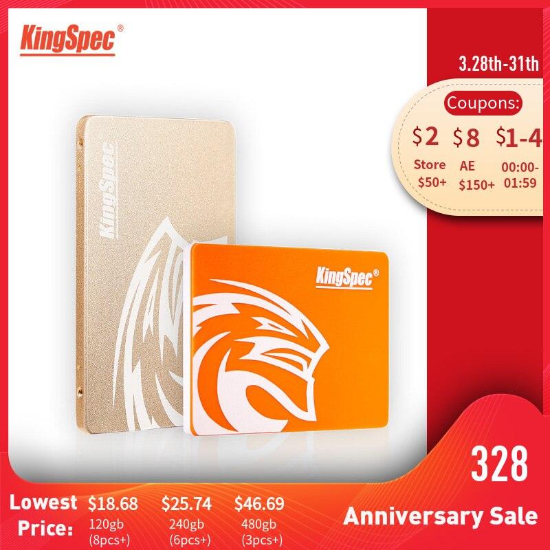KingSpec SSD HDD 2,5 SATA3 SSD 120 GB SATA III 240 GB SSD 480 GB SSD 960 gb 7mm interne Solid State Drive für Desktop-Laptop PC
