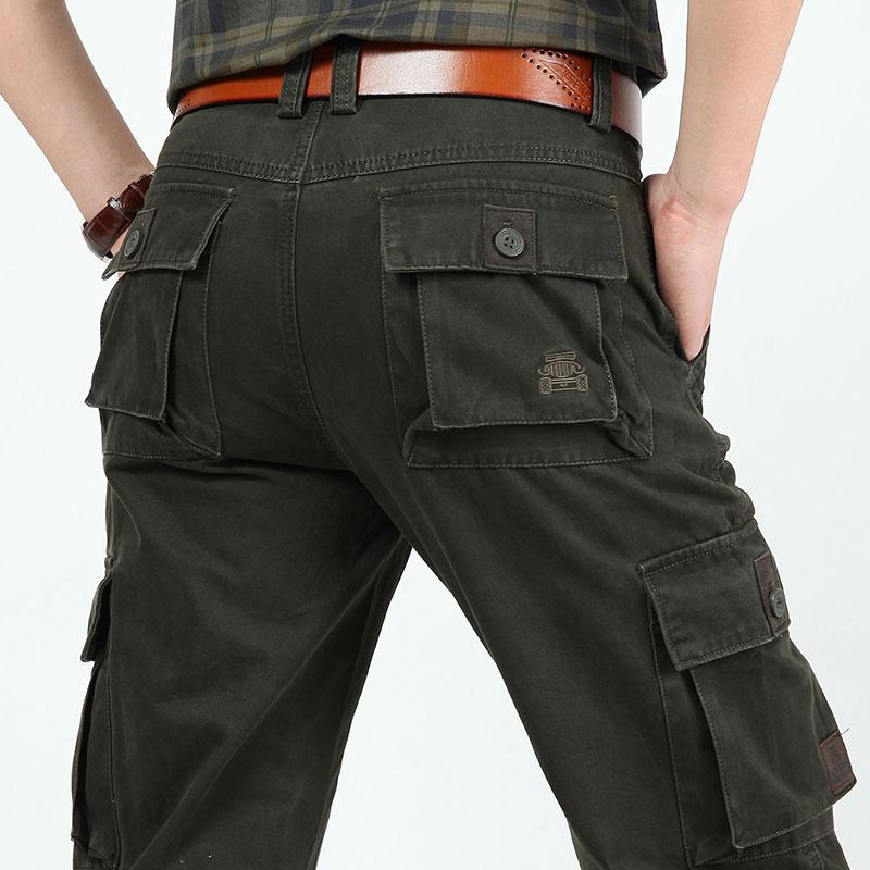 4 krāsas 30 ~ 44 2015 Jauns rudens vīriešu plus izmērs bikses kokvilnas garš ikdienas bikses vīrietis taisns formāls modes lielizmēra pantalones
