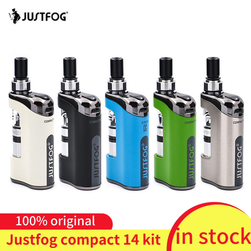 in stock!!! justFog Compact 14 Kit 1500mah built-in battery E-Cig Vaporizer Kit with 1.2ohm/1.6ohm Q14 Clearomizer Tank Vape Kitin stock!!! justFog Compact 14 Kit 1500mah built-in battery E-Cig Vaporizer Kit with 1.2ohm/1.6ohm Q14 Clearomizer Tank Vape Kit