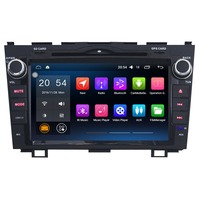 8 Inch Android 6 0 Car Multimedia Player For Honda CRV 2008 2011 Without DVD Car