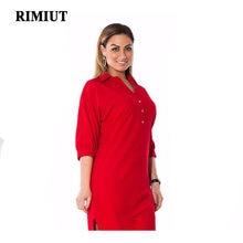 Платье рубашка rimiut женское с разрезом однотонное пикантное