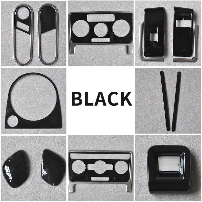 black for Volkswagen Beetle 2013-2018 Interior trim Decoration