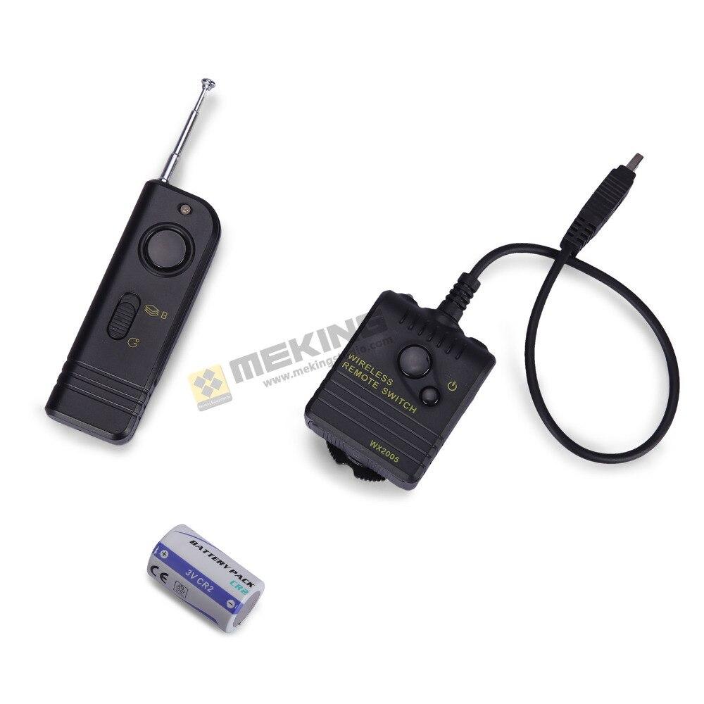 2016 продажа БРК wx2005 беспроводной спуска затвора пульт дистанционного управления приемник передатчик для Nikon D80 D70S D5000