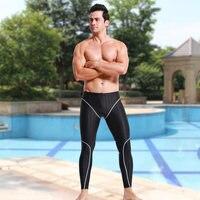2018 New Swimwear Long Men Swimsuit sharkskin water repellent racing men's swimming trunks Sport classic men swimwear beachwear