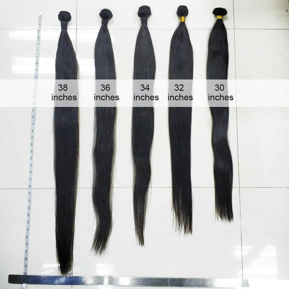 FDX brazilian straight hair bundles deal 1/3/4pcs Long human hair extensions weave 28 30 inch 32 34 36 38 40 Inch sliky remy