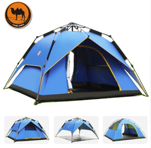 Hydraulic Fully-Automatic Outdoor Camping Tent Tourism Party 3-4 Person Family Water Proof Beach Park Tent Outdoor Camping Tent Hydraulic Fully-Automatic Outdoor Camping Tent Tourism Party 3-4 Person Family Water Proof Beach Park Tent Outdoor Camping Tent