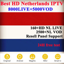 Best Netherlands IPTV 4K LIVE x96 smart android tv box+Dutch French Spain Sweden Israel France Belgium UK m3u subscription iptv(China)