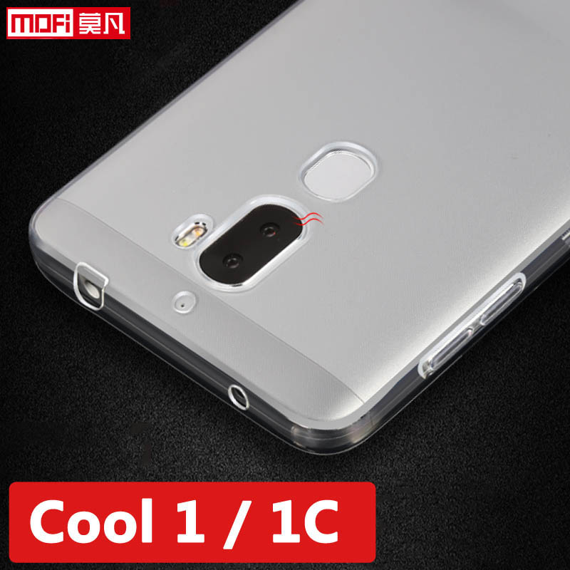 Letv leeco cool 1 étui en silicone souple dos clair ultra mince coque de protection leeco cool1 coque leeco changeur cool 1c couverture