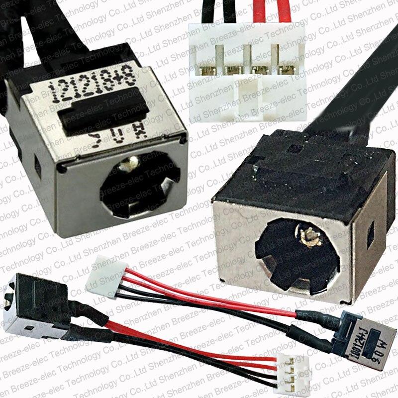 100% NEW DC Power Jack Socket Cable Connector Wire For TOSHIBA Portege Tecra R700 R705 R730 R730B R830 R835 R840 R845 R930 R935