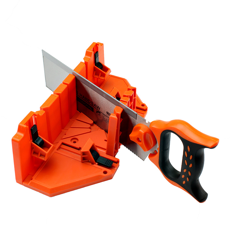 New Adjustable Back saw and Mitre Box Carpenter's wood cutting hand saw Angle cutting tool mitre saw hyundai m 1500 210