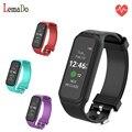 LEMADO L38I Faixa Dinâmica Inteligente Monitor de Freqüência Cardíaca Do Bluetooth Pulseira Inteligente para IOS Smartphone Android