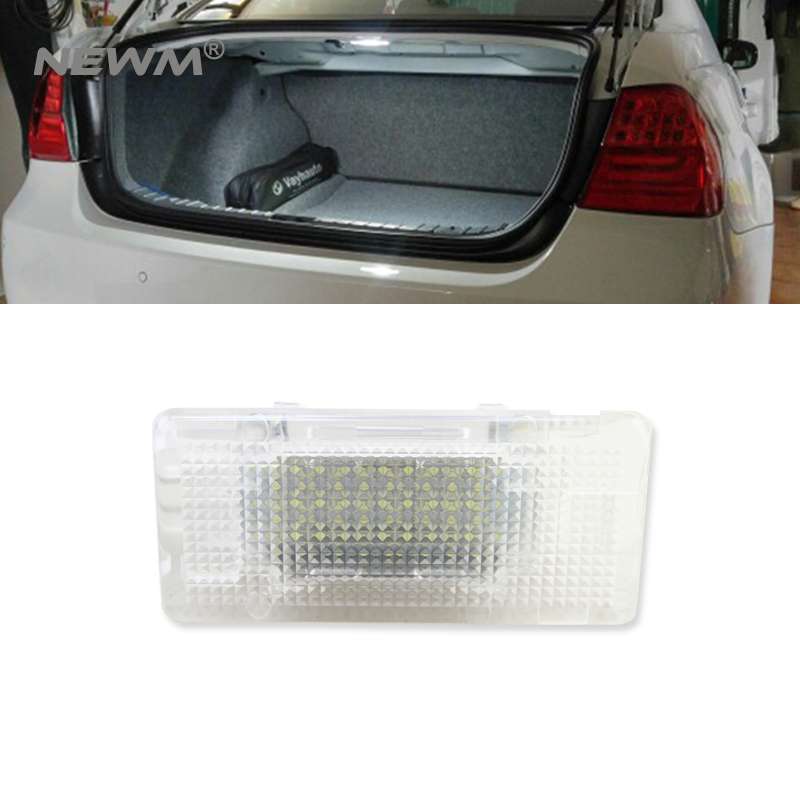 2018 New Led Footwell Luggage Trunk Interior Light Glove Box Lamp No Error for BMW X5 E46 E39 E82 E88 E90 E91 E92 E53 F10 F01 for volkswagen passat b6 b7 b8 led interior boot trunk luggage compartment light bulb