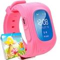 Smart Watch Q50 OLED Экран GPS Smartwatch СИМ Наручные Умный Парень С SOS Расположение Finder Трекер для Ребенка Сообщение Вызова