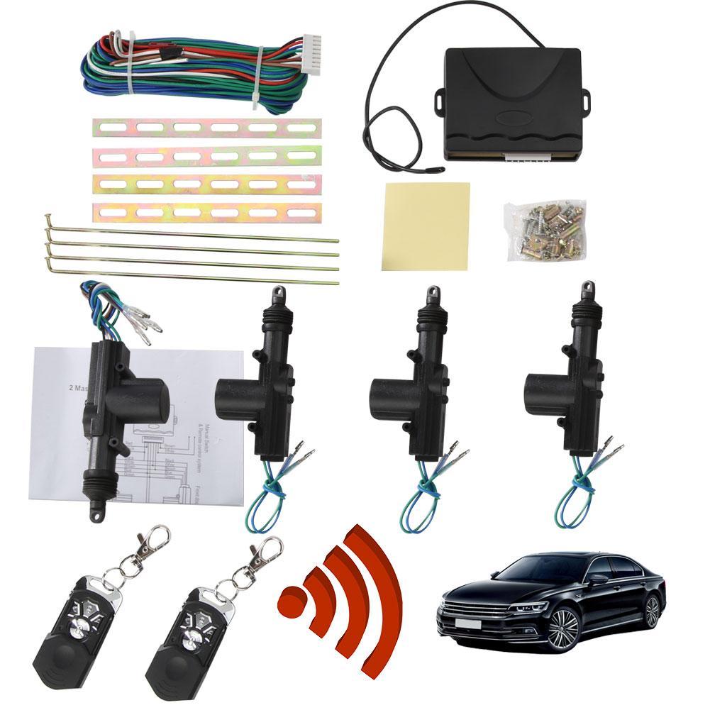 NOUVELLE Voiture Auto Centralisé À Distance Fob de Sécurité D'alarme Kit de Verrouillage De Porte De Système D'entrée Sans Clé