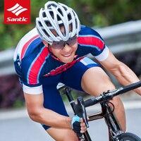 سانتيتش 2018 الرجال الدراجات جيرسي مجموعات أشعة سباقات فريق الملابس الرياضية mtb الطريق دراجة دراجة الدراجات روبا ciclismo