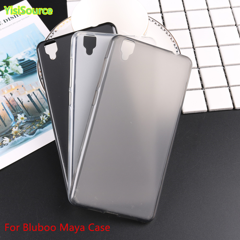 <font><b>Bluboo</b></font> Maya Case Cover Silicone Dirt-resistant Thin TPU Mobile Phone Case Back Cover For <font><b>Bluboo</b></font> Maya <font><b>Smartphone</b></font>