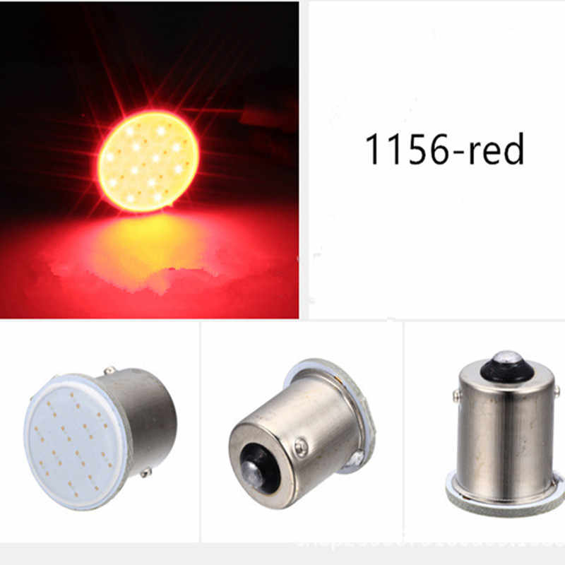 1x P21W 1157 Bay15d 1156 P21W LED איתות הנורה COB רכב פנים אור חניה הפוך חזרה בלם מנורת סופר בהיר 12 V