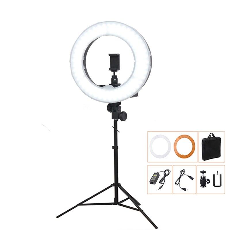 3300K 5500K 240LED Photographic Lighting Dimmable Camera Photo Studio Phone Video Photography Ring Photo Soft Box
