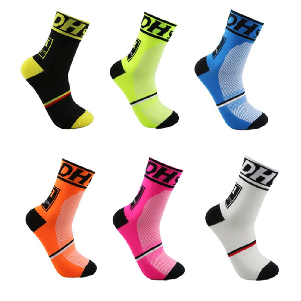 Sports New Cycling Socks Top Quality Professional Brand Sport Socks Breathable Bicycle Sock Outdoor Racing Big Size Men Women