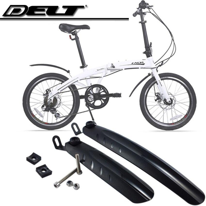 Road Bicycle Bike Fenders & Mudguard For 18/<font><b>20</b></font> inch Folding 280MM / 345MM 1 set Black