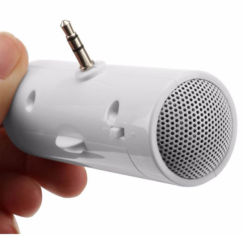 Mini Speaker Stereo 3.5mm Amplifier USB Portable For MP3 MP4 Mobile Phone Tablet GDeals