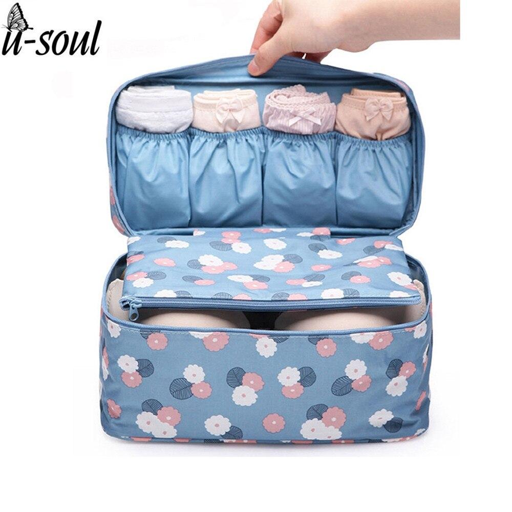 Cosmetic Bag Korean Makeup Organizer Underwear Bra Makeup