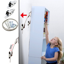 Anti Tip Furniture Anchor Straps Connect Wall and Furniture to Protect The Safety of Baby and Pets, Safety Straps For Furniture