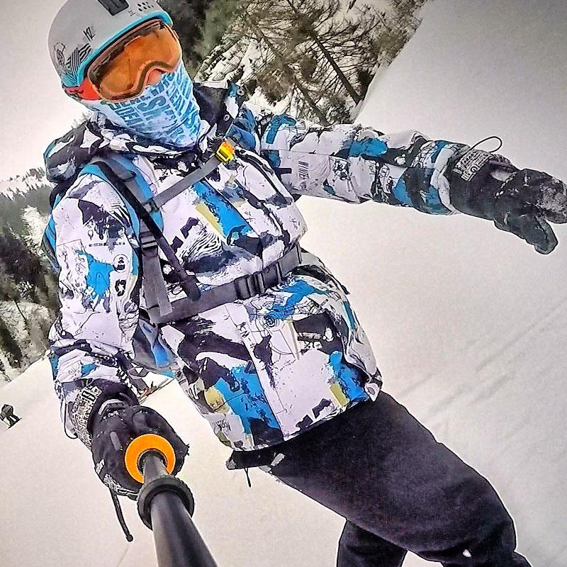 Ski Suit Men Brands Winter Windproof Waterproof Thermal Snow Jacket And Pants Sets Skiwear Skiing And
