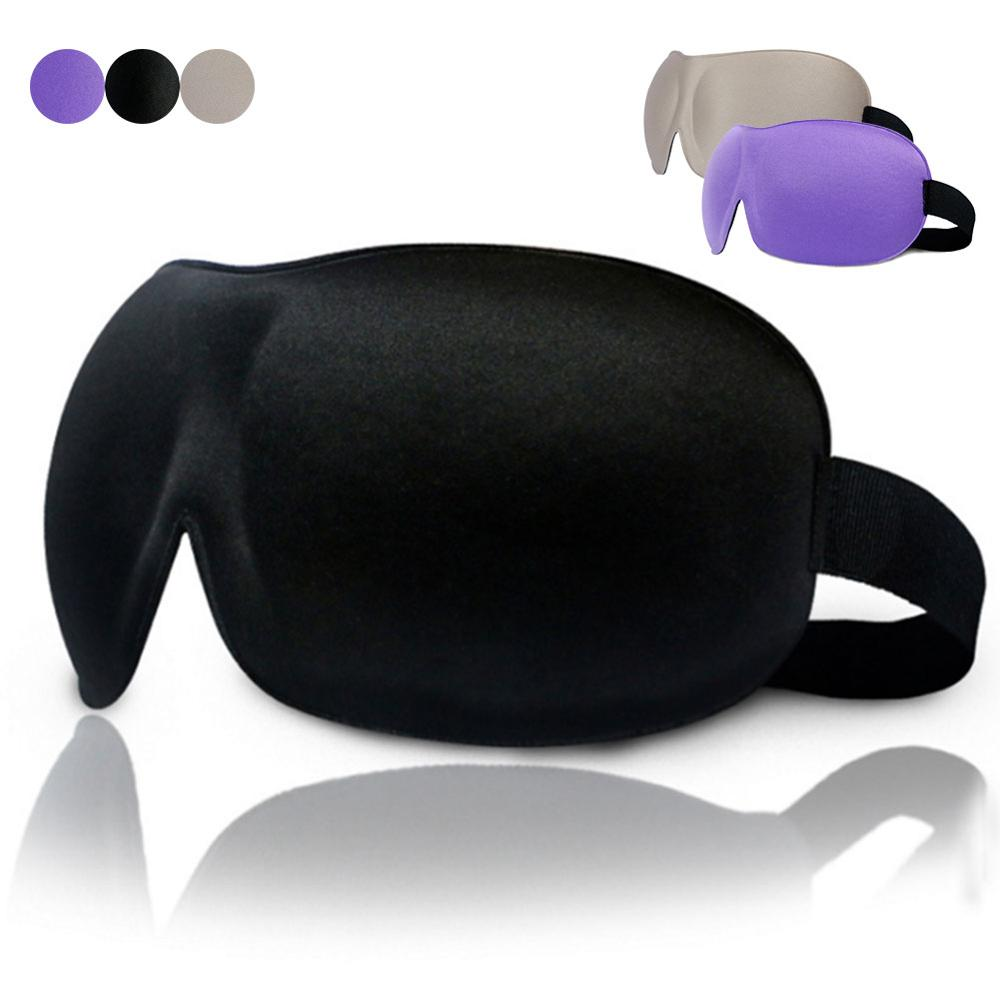 2019 Practical Handy High Quality Travel 3D Eye Mask Sleep Soft Padded Shade Cover Rest Relax Sleeping Blindfold