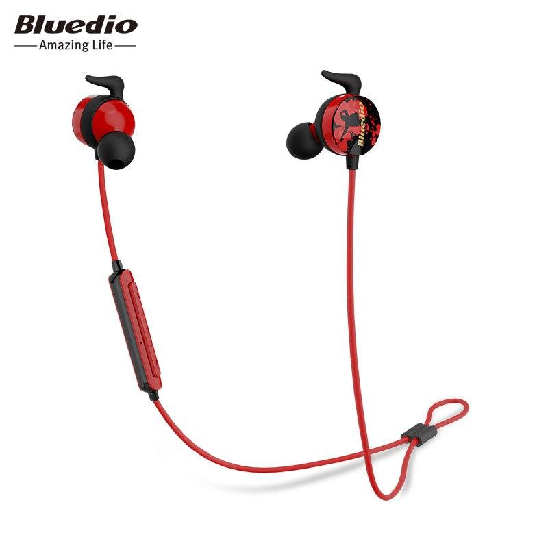 2017 Bluedio Ai Sports Earphones Bluetooth Headset/wireless Headphone In-ear Earbuds Built-in Mic Sweat Proof Good Bass earphone big bluetooth wireless headphone earphones