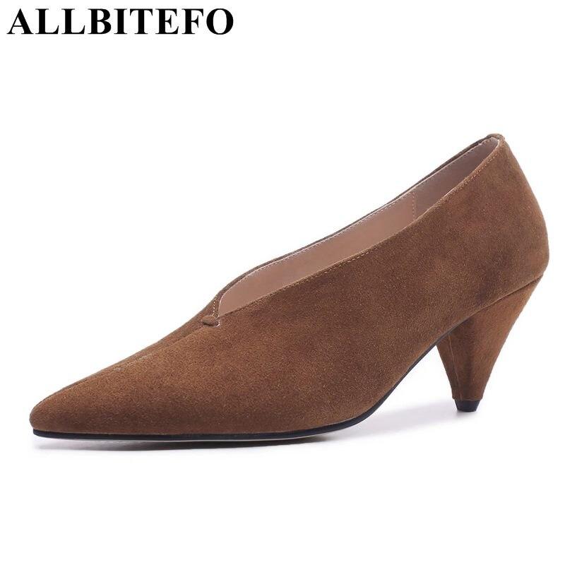 Alto Moda Zapatos Tacón Tacones Allbitefo Bombas Mujeres Niñas Beige BIHwp