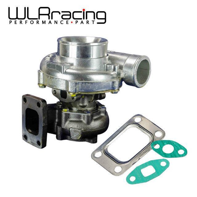 цена на GT35 Turbo charger A/R:.70 cold,.63 hot,t3 flange Turbocharger Horsepower rating: 300-500hp WLR-TURBO44