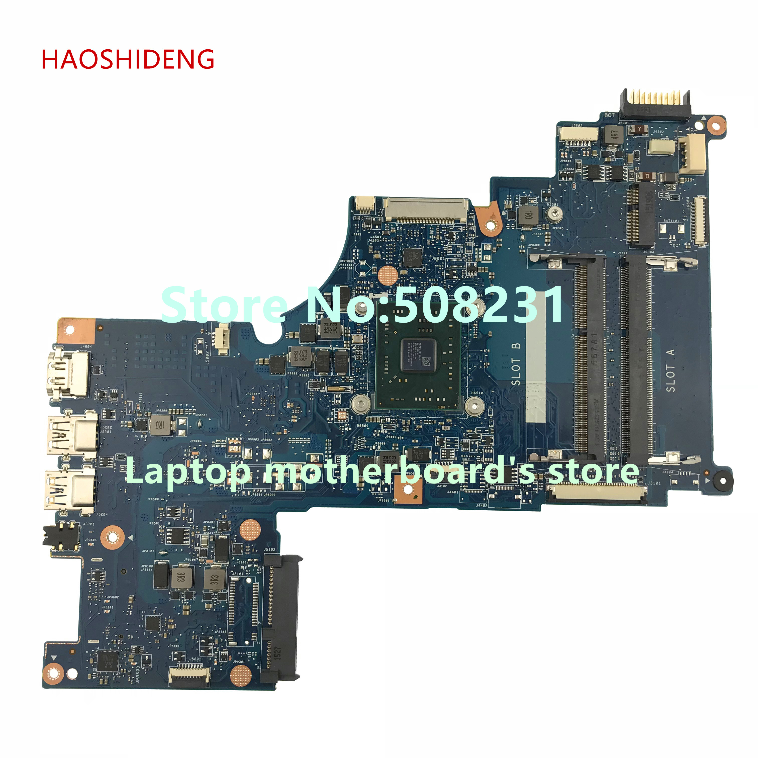 HAOSHIDENG H000087310 for Toshiba Satellite C70D-C C75D-C motherboard with A6-7310 2.0GHz CPU All functions fully Tested