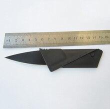 Кредитная Карта Нож Складной Нож Карманный Мини Бумажник Открытый Кемпинг Охотничьи Инструменты Складной Нож Тактический нож выживания