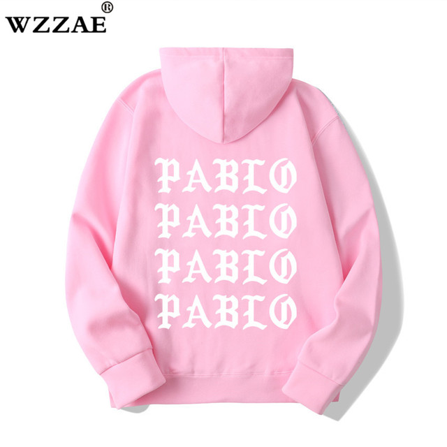 I Feel Like Paul Pablo Kanye West Sweat Homme hoodies Men Sweatshirt Hoodies Hip Hop Streetwear Hoody Pablo Hoodie 2
