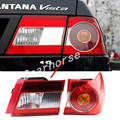 Montagem lanterna traseira sinais de volta da lâmpada de luz de freio do carro para volkswagen vw santana 4000