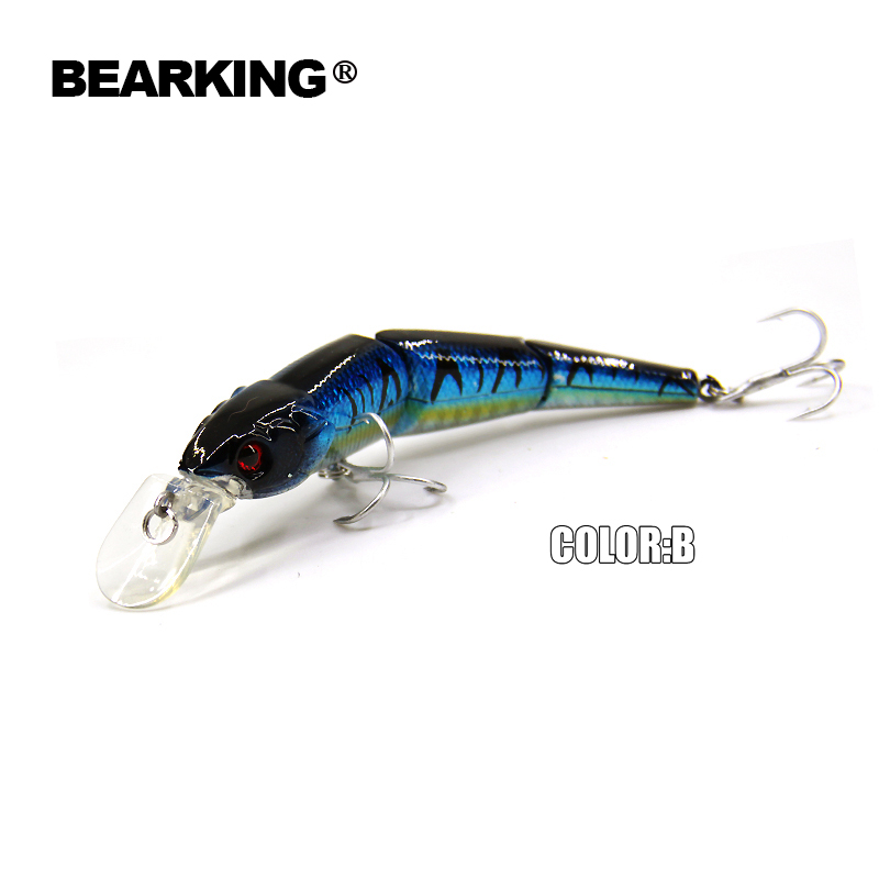 Hot model 5pcs/lot Bearking fishing lures minnow Hard baits mixed colors Tsurinoya quali ...