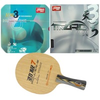 Pro Table Tennis PingPong Combo Racket DHS POWER G7 With DHS TinArc 3 DHS NEO Hurricane