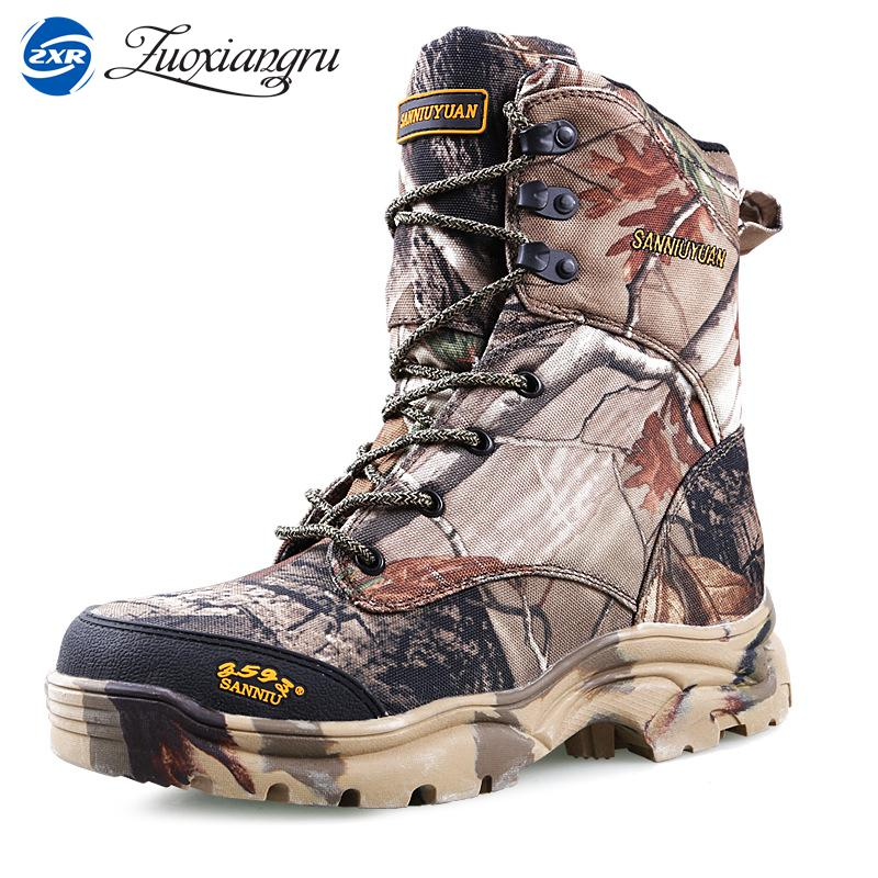 Winter Warm Fur Professional Hiking Shoes Men Waterproof Army Tactical Boots High-Help Outdoor Training Shoes Wool Cold Boots winter men s anti slip warm outdoor high top hiking sports boots fur shoes men army wearable climbing sneakers shoes camping