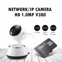 (1 PZ) Network Camera Baby Monitor anziani di Sorveglianza HD 720 P Wireless versione Notturna di IR Cut Audio Recorder WIFI panoramica