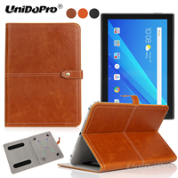 Unidopro Shockproof PU Leather Protector Folio Case For Lenovo TAB3 7 LTE 730M 730X Des Cas