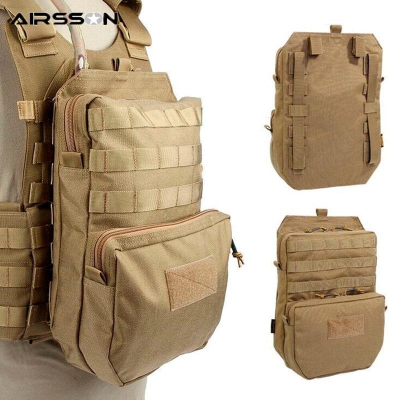 cs jogo militar combate colete acessórios sacos de caça