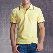 Brand Clothing Polo Shirt Solid Casual Polo Homme For Men Tee Shirt Tops High Quality Cotton Slim Fit 102TCG Accpet Custom