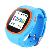 ZGPAX S866 Good Watch Child Secure Wristwatch GSM GPS Finder Locator Tracker SIM SOS Anti-Misplaced Kids Look ahead to iOS Android