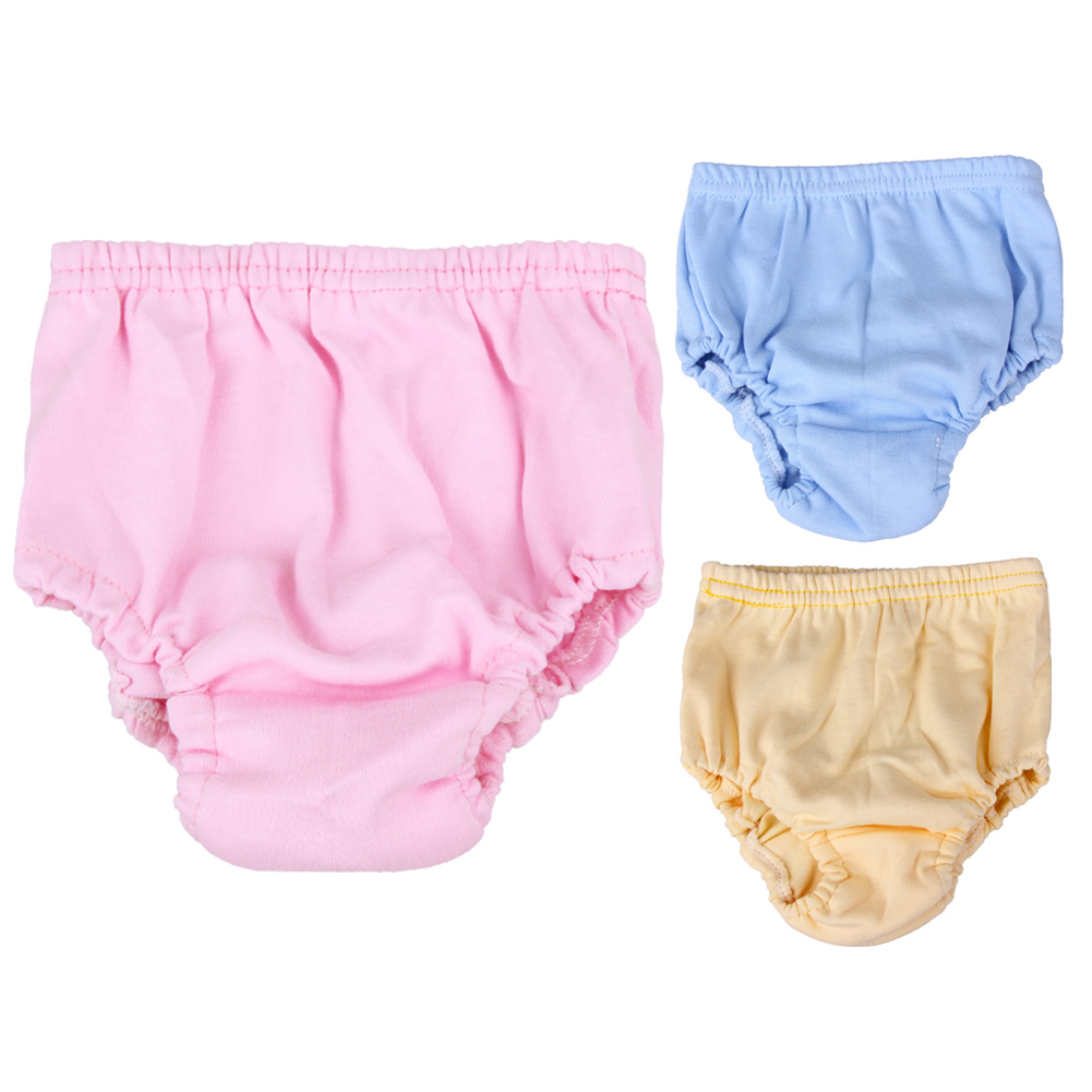 Baby Infants Breathable Soft Cotton Diaper Pants Reusable Nappy Infant Underwear Diapers Waterproof Training Pants