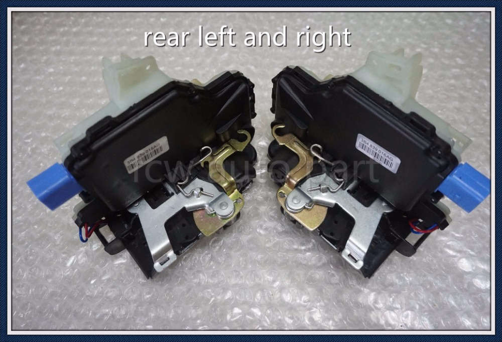 pair 2pc 3B4839016AG 3B4839015AG REAR SIDE DOOR LOCK ACTUATOR FOR VW POLO 9N VW T5 TRANSPORTER CARAVELLE MULTIVANpair 2pc 3B4839016AG 3B4839015AG REAR SIDE DOOR LOCK ACTUATOR FOR VW POLO 9N VW T5 TRANSPORTER CARAVELLE MULTIVAN